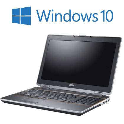 Dell Latitude E6420 Widescreen laptop with Windows 10,  4GB Memory, 250GB