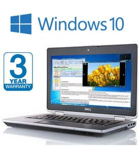 Dell Latitude E6430 i5 Laptop, 3 Year Warranty, with Windows 10,  8GB Memory, 256GB SSD