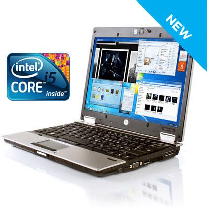 HP Elitebook 2540p Laptop 4GB i5, 500GB HDD