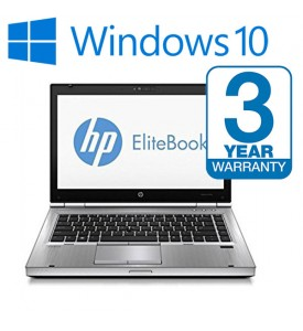 HP Elitebook 8470p, 3 Year Warranty i5 Laptop, 8 GB Memory, 500GB HDD, Wireless, 3 Year Warranty, Office 2016