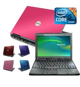 Coloured Intel laptop i5 8gb, 500GB Widescreen Laptop, Red, Pink, Purple or Blue