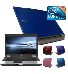 Coloured Cheap i5 4gb, 160GB Widescreen Laptop, Red, Pink, Purple or Blue