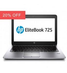 HP EliteBook 725 G2 Laptop Quad Core 500GB HDD Warranty Windows 10