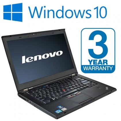 Lenovo Thinkpad T410 Laptop, 3 Year Warranty 8GB Memory, 500GB HDD, DVD, Office 2016