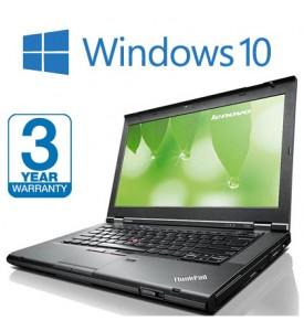 Lenovo Thinkpad T430, 3 Year Warranty, i5 2.60GHz 3rd Gen 8GB RAM 500GB HDD Warranty Windows 10 Laptop