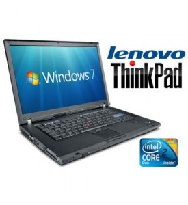 Ibm Lenovo Thinkpad T61 Laptop, 80GB HDD, Wireless