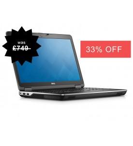 """Dell Latitude E6540 i7 4th Gen Laptop with Windows 10, 4GB RAM, 500GB 15.6"""" Widescreen, HDMI, Warranty,"""