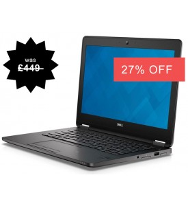 Dell Latitude E7270 6th Gen Laptop with Windows 10,  8GB RAM, HDMI, Warranty, Webcam,