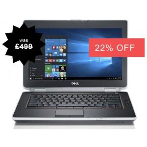 Dell Latitude E6420 i7 Widescreen with Windows 10,  4GB Memory, 500GB, i7 Laptop