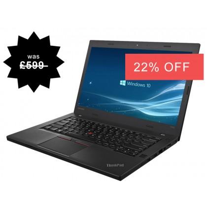 Lenovo Thinkpad T460p Gaming Laptop i5 2.30GHz 5th Gen 8GB RAM 500GB HDD Warranty Windows 10 Webcam
