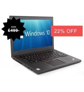 Lenovo Thinkpad X250 Laptop i5-5600U 2.20GHz 5th Gen 8GB RAM 500GB Warranty Windows 10 Webcam