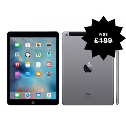 Apple iPad 3 16GB Refurbished WiFi Space Grey 1st Generation Warranty